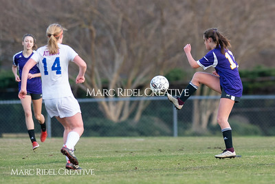Broughton JV soccer vs Athens Drive. March 7, 2019. D4S_4688