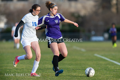 Broughton JV soccer vs Athens Drive. March 7, 2019. D4S_4559