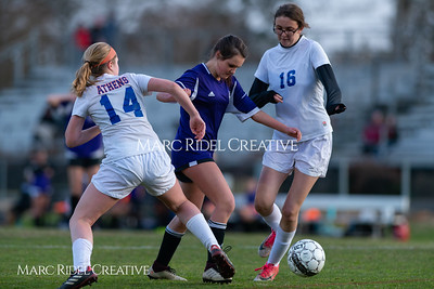 Broughton JV soccer vs Athens Drive. March 7, 2019. D4S_4672
