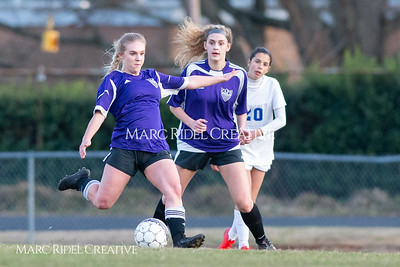 Broughton JV soccer vs Athens Drive. March 7, 2019. D4S_4691