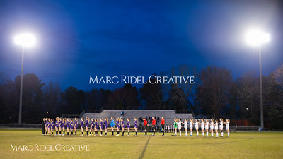 Broughton varsity soccer vs Athens Drive. March 7, 2019. D4S_4775