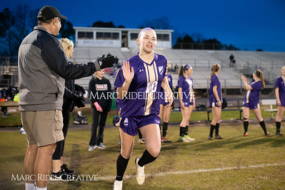 Broughton varsity soccer vs Athens Drive. March 7, 2019. D4S_4758