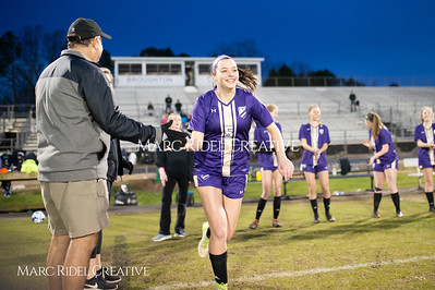 Broughton varsity soccer vs Athens Drive. March 7, 2019. D4S_4764