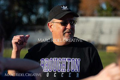 Broughton varsity soccer vs Cardinal Gibbons. March 27, 2019. MRC_5394
