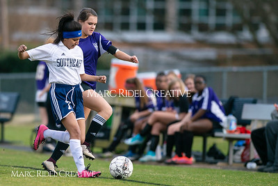 Broughton JV soccer vs Southeast Raleigh. March 13, 2019. D4S_6666