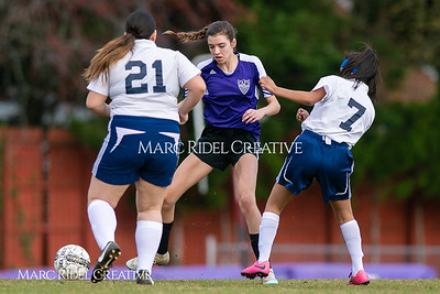 Broughton JV soccer vs Southeast Raleigh. March 13, 2019. D4S_6671