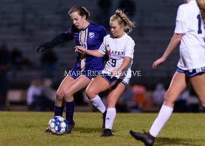 Broughton jv and varsity soccer vs Apex Friendship. February 27, 2020. D4S_9710