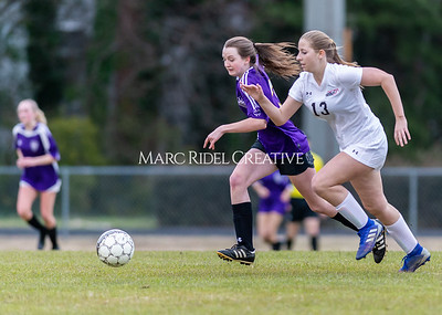Broughton JV soccer vs Middle Creek March 2, 2020. D4S_1493