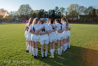 Broughton soccer vs. Sanderson. April 10, 2018