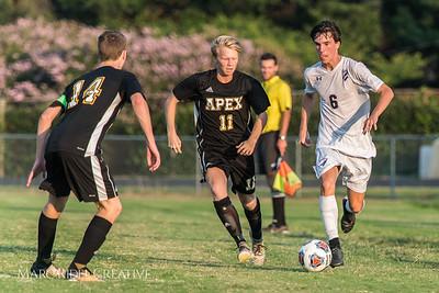 Broughton Varsity Soccer vs. Apex. August 16, 2017