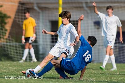 Broughton Soccer vs. Athens Drive. September 5, 2017.