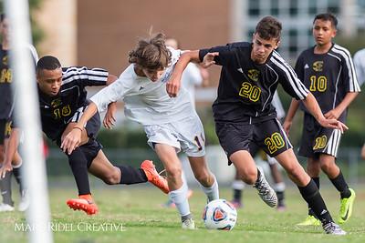 Broughton JV soccer vs. Enloe. 2-2. September 18, 2017.