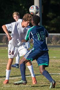 Broughton JV soccer vs Leesville. October 19, 2017.
