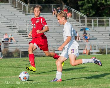 Broughton JV Soccer vs. Rolesville. August 14, 2017