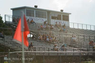 Broughton Varsity Soccer vs. Rolesville. August 14, 2017