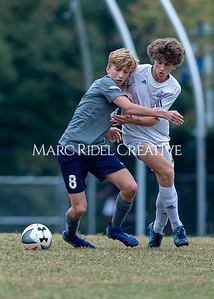 Broughton JV soccer vs Millbrook. October 30, 2019. D4S_3874