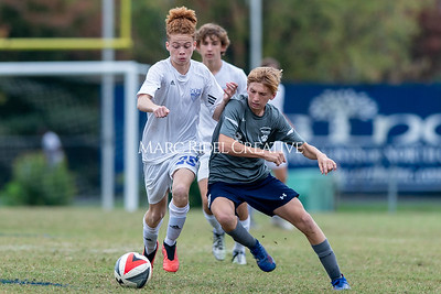 Broughton JV soccer vs Millbrook. October 30, 2019. D4S_3827
