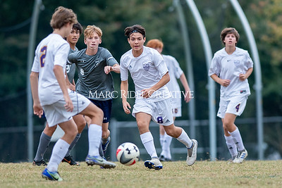 Broughton JV soccer vs Millbrook. October 30, 2019. D4S_3822