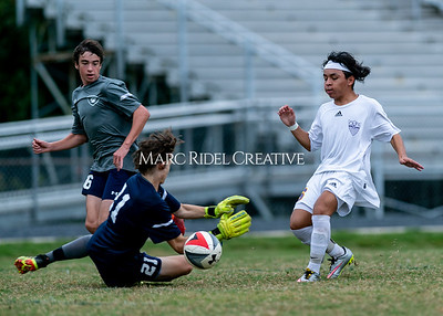 Broughton JV soccer vs Millbrook. October 30, 2019. D4S_3967