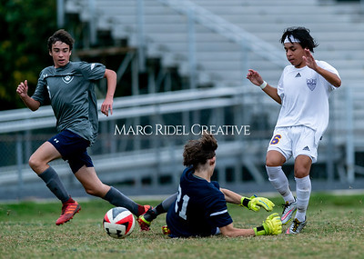 Broughton JV soccer vs Millbrook. October 30, 2019. D4S_3968