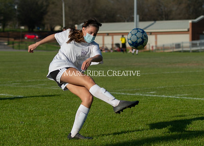Broughton Lady Caps JV and varsity soccer vs Athens Drive. March 26, 2021