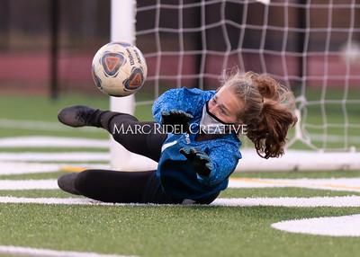 Broughton Lady Caps varsity soccer vs Cardinal Gibbons. March 29, 2021