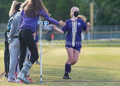 Broughton Lady Caps soccer vs Cardinal Gibbons. April 22, 2021