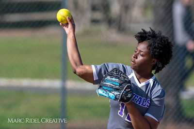 Broughton vsoftball vs Southeast Raleigh. March 16, 2018.