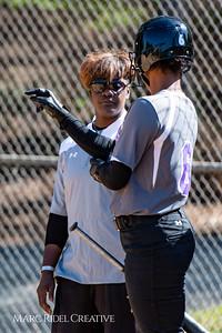 Broughton softball vs. Cardinal Gibbons. April 17, 2018.