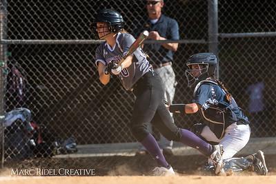 Broughton softball vs. Millbrook. May 1, 2018.