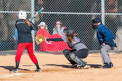 Broughton softball vs. Rolesville. March 9, 2018