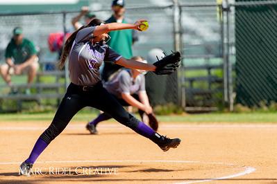 Broughton softball at Cardinal Gibbons. May, 1, 2019. D4S_7161