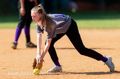 Broughton softball at Cardinal Gibbons. May, 1, 2019. D4S_7154