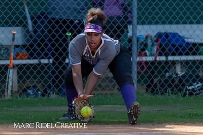 Broughton softball at Cardinal Gibbons. May, 1, 2019. D4S_7121