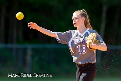 Broughton softball at Cardinal Gibbons. May, 1, 2019. D4S_7147