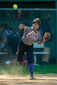 Broughton softball at Cardinal Gibbons. May, 1, 2019. D4S_7106