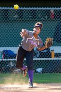 Broughton softball at Cardinal Gibbons. May, 1, 2019. D4S_7127