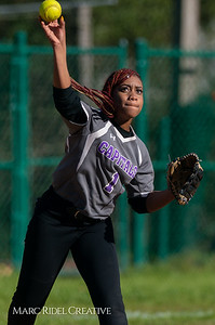 Broughton softball vs Enloe. March 26, 2019. D4S_4803