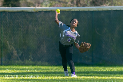 Broughton softball vs Enloe. March 26, 2019. D4S_4740
