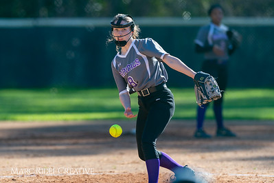 Broughton softball vs Enloe. March 26, 2019. D4S_4703