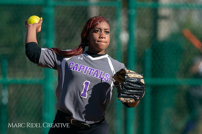 Broughton softball vs Enloe. March 26, 2019. D4S_4802