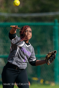 Broughton softball vs Enloe. March 26, 2019. D4S_4813