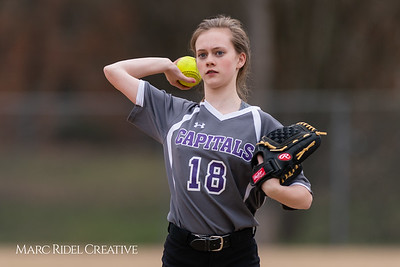 Broughton softball vs Athens Drive. March 11, 2019. D4S_5694