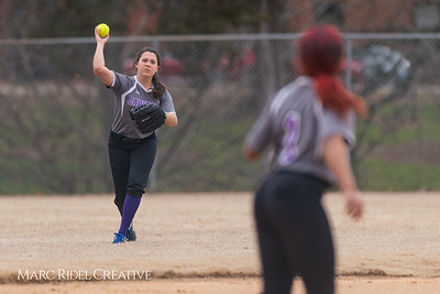 Broughton softball vs Athens Drive. March 11, 2019. D4S_5667