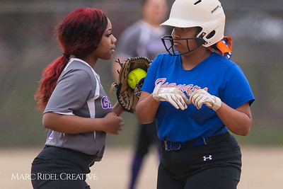 Broughton softball vs Athens Drive. March 11, 2019. D4S_5669