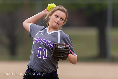 Broughton softball vs Athens Drive. March 11, 2019. D4S_5706