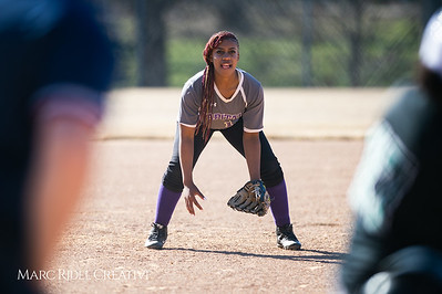 Broughton softball vs Southeast Raleigh. March 19, 2019. D4S_1041