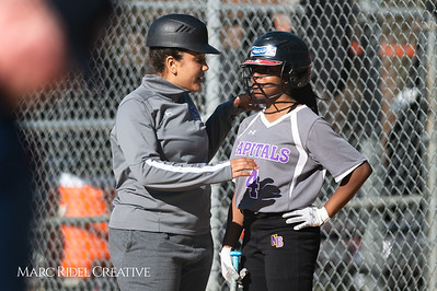 Broughton softball vs Southeast Raleigh. March 19, 2019. D4S_1043