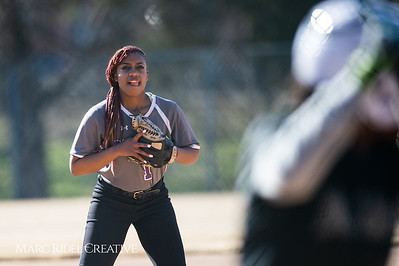 Broughton softball vs Southeast Raleigh. March 19, 2019. D4S_1040
