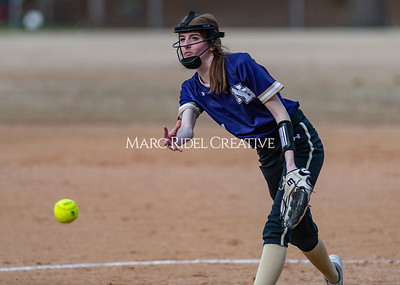 Broughton softball vs East Chapel Hill. March 11, 2020. D4S_8327